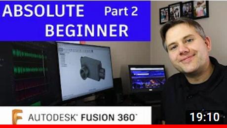 autodesk fusion 360 tutorial part2