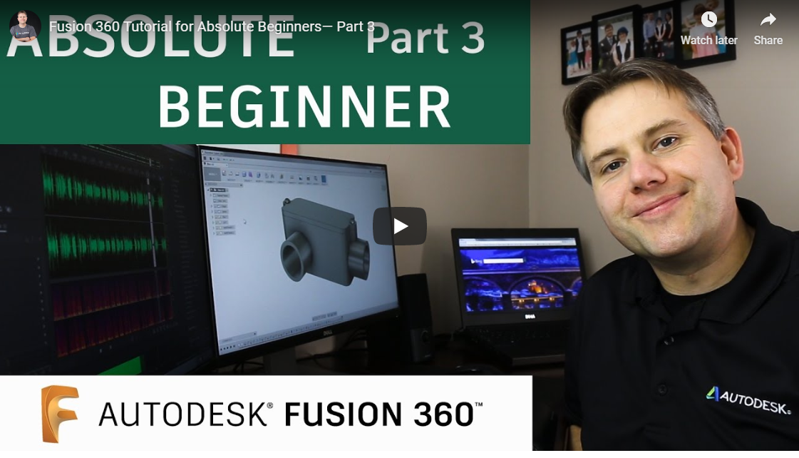 autodesk fusion 360 tutorial part3