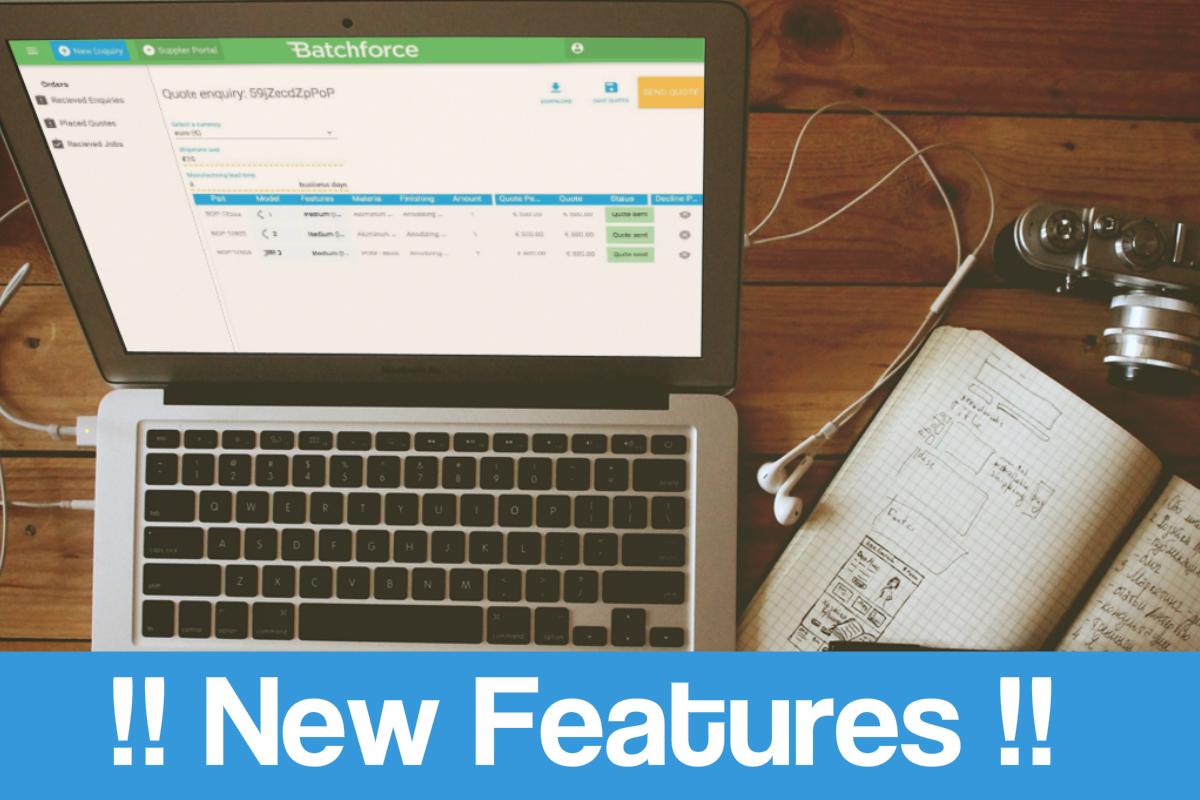 batchforce new features