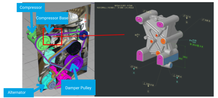 Example compressor base prototype